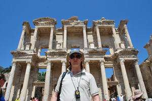 Jeroen Massar in Ephesus, Turkey