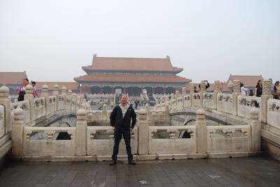 Jeroen Massar in Beijing, China