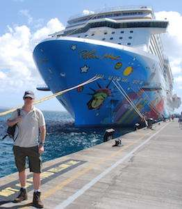 Jeroen Massar in Norwegian Breakaway